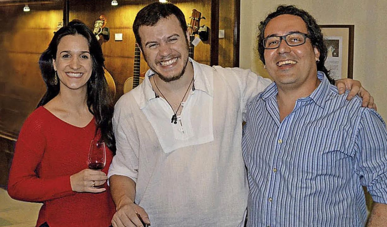 Musik ihrer  brasilianischen Heimat sp...rdo Barboza (von links) im Kesselhaus.  | Foto: ZVG