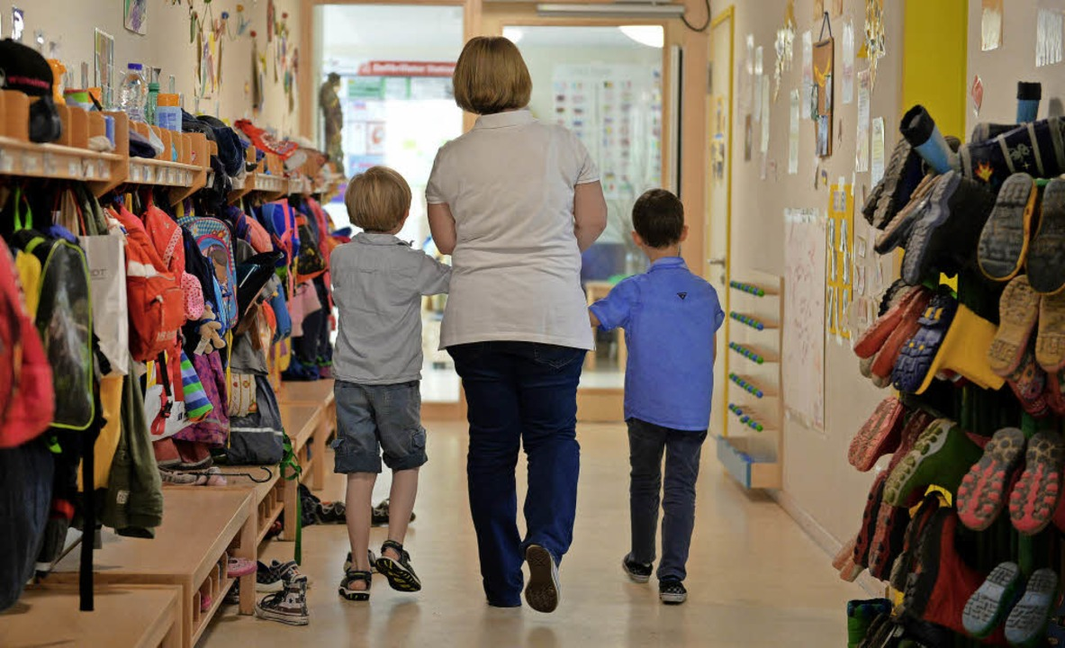 Die Elternbeiträge für den Kindergarte...n zum Januar um acht Prozent steigen.   | Foto: Symbolfoto: dpa