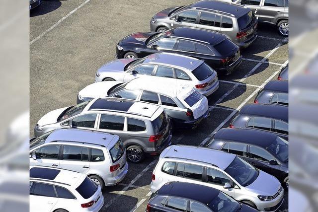Gescheitertes Geschäft mit Autos