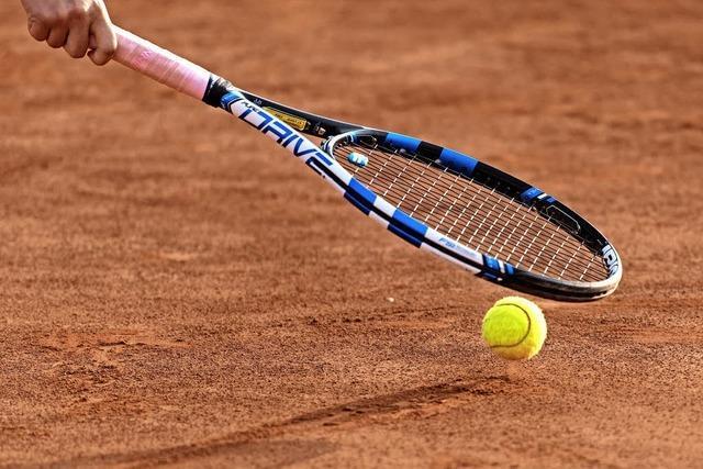 Tennis hat Hochsaison