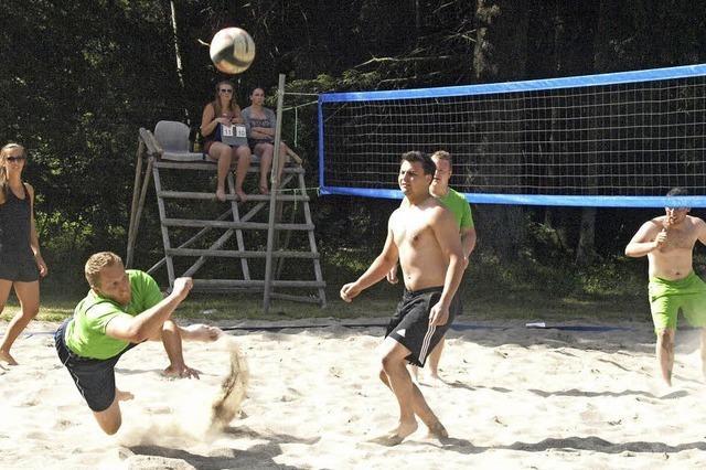Beachvolleyballturnier eröffnet die Saison