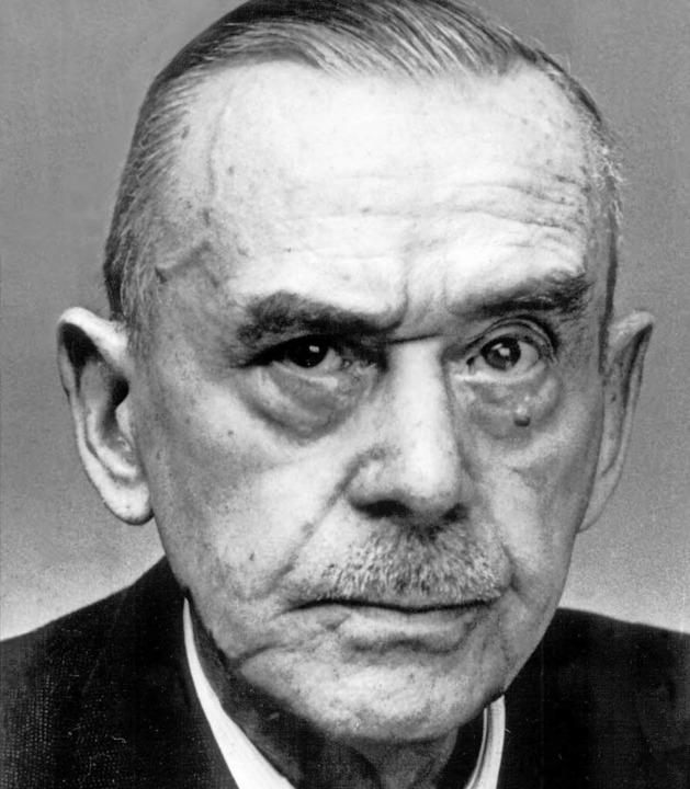 Thomas Mann   | Foto: dpa