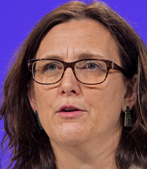 Cecilia Malmström    Foto: dpa