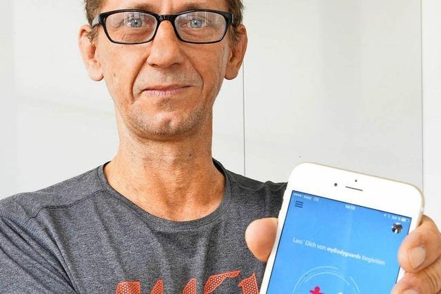 Freiburger Unternehmer entwickelt Heimweg-App mit Stimmaktivierung
