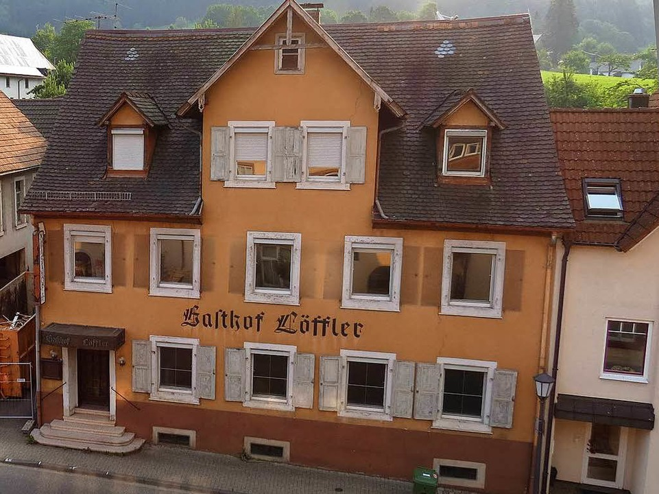 Das Löffler-Areal in der Ortsmitte von Seelbach    Foto: Gemeinde