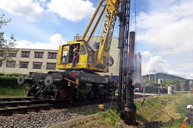 Ab 31. Juli ist die Bahnstrecke zwischen Riegel-Malterdingen und Endingen gesperrt