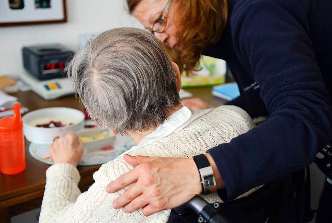 Die Beratungsstelle will ältere Mensch...i Veränderungsprozessen  unterstützen.  | Foto: Caroline Seidel