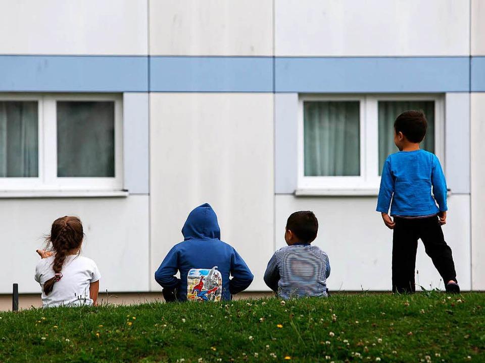 49 Flüchtlinge sollen in Pfaffenweiler...ein neues Zuhause finden (Symbolbild).    Foto: dpa