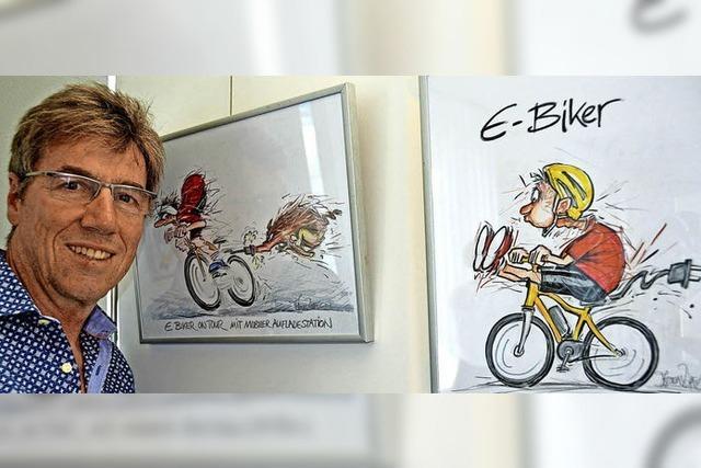 E-Biker sucht Anschluss – aber wo?
