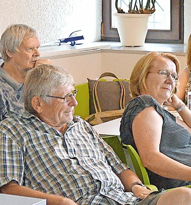Unter den Besuchern waren viele Parteimitglieder der Grünen und der SPD.   | Foto: Horatio Gollin