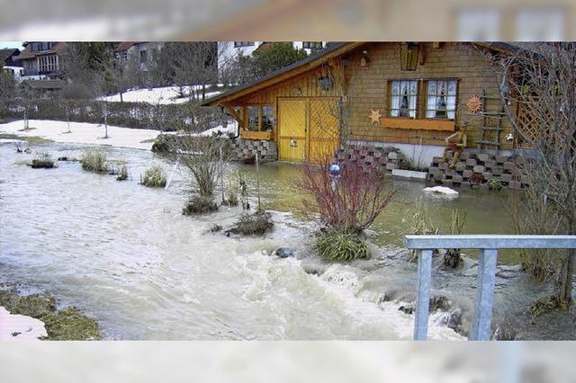 Das Hochwasserrisiko soll jetzt bewertet werden