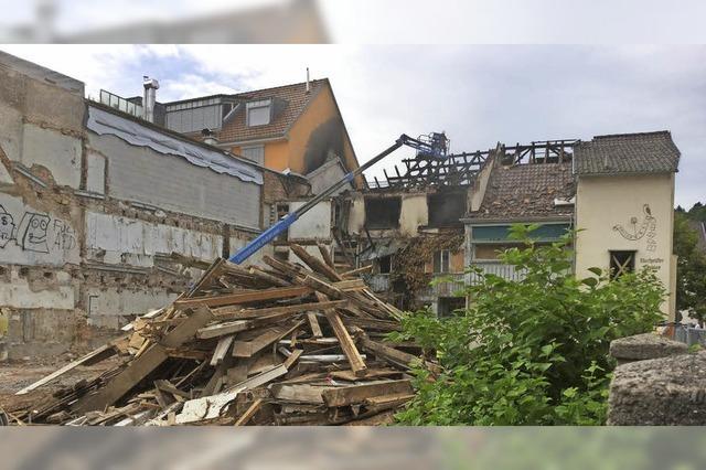 Uehlin-Schornsteine weggefegt