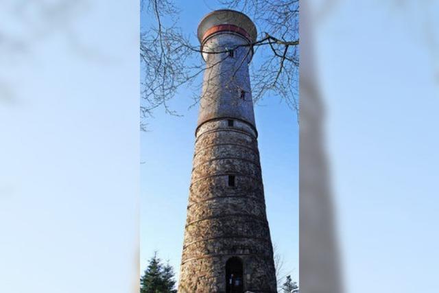 Hohe-Möhr-Turm wird derzeit repariert