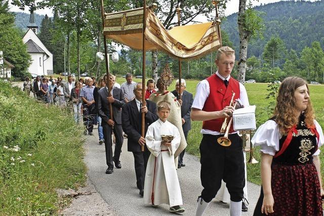 Prozession im Albtal
