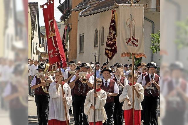 Oberrotweil feierte das Patrozinium
