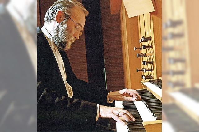 Faszinierendes Orgelspiel