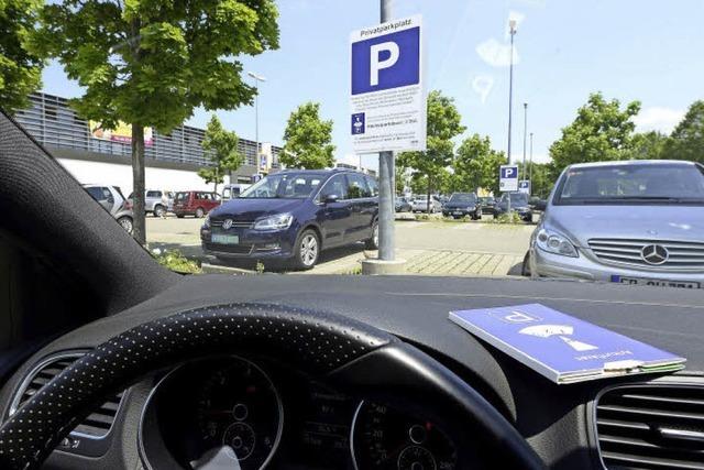 Einkaufszentren wollen verstärkt Dauerparker verhindern