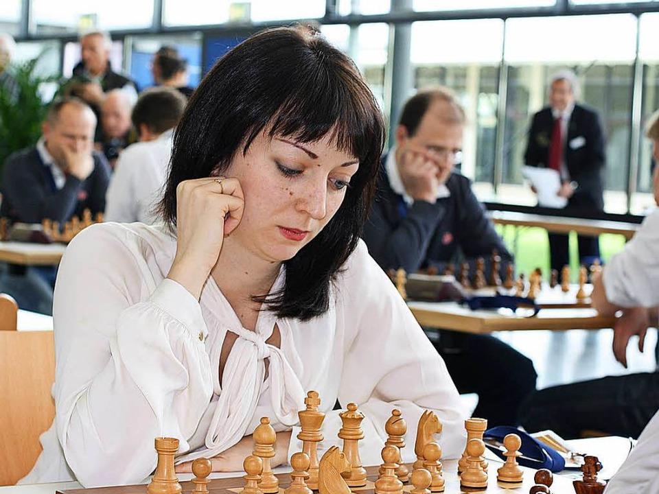 Elisabeth Pähtz   | Foto: Metz/DPA