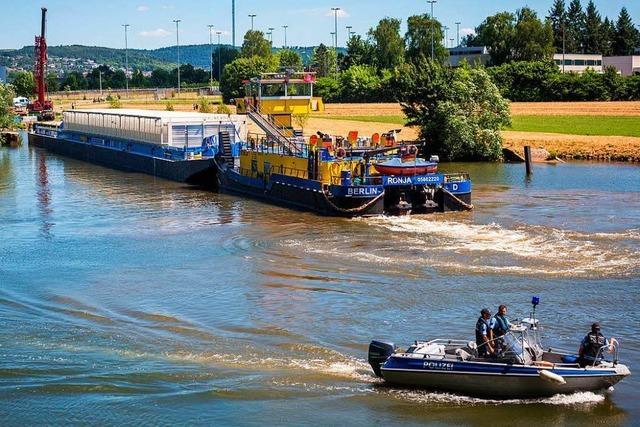 Castor-Transport weiter Richtung Neckarwestheim unterwegs