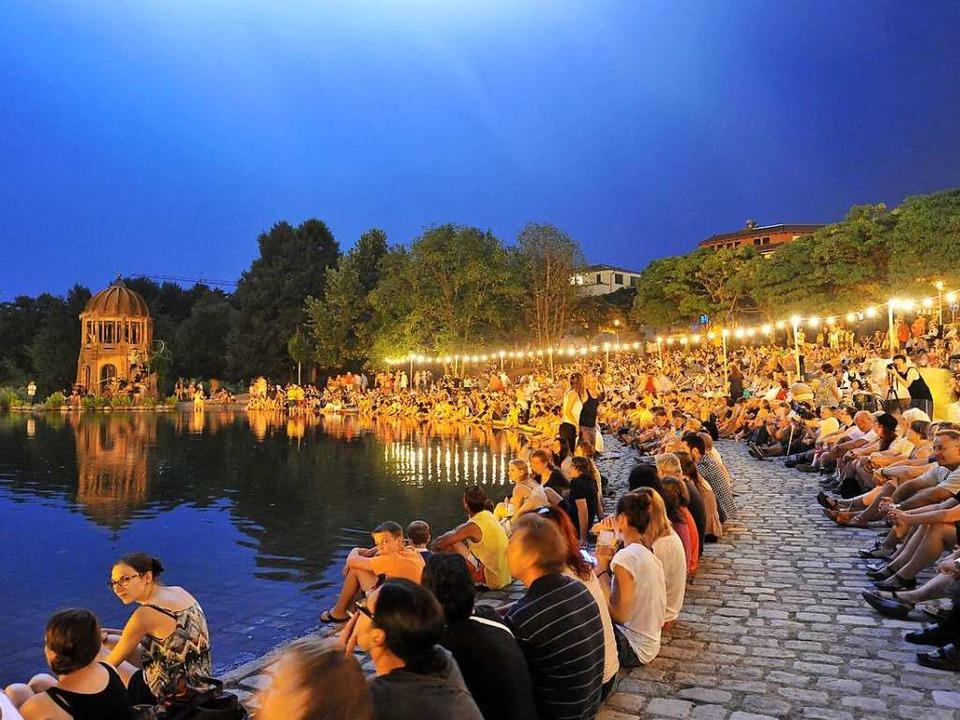 Am 21. Juli startet das Seefest in diesem Jahr (Archivbild von 2013)  | Foto: Rita Eggstein
