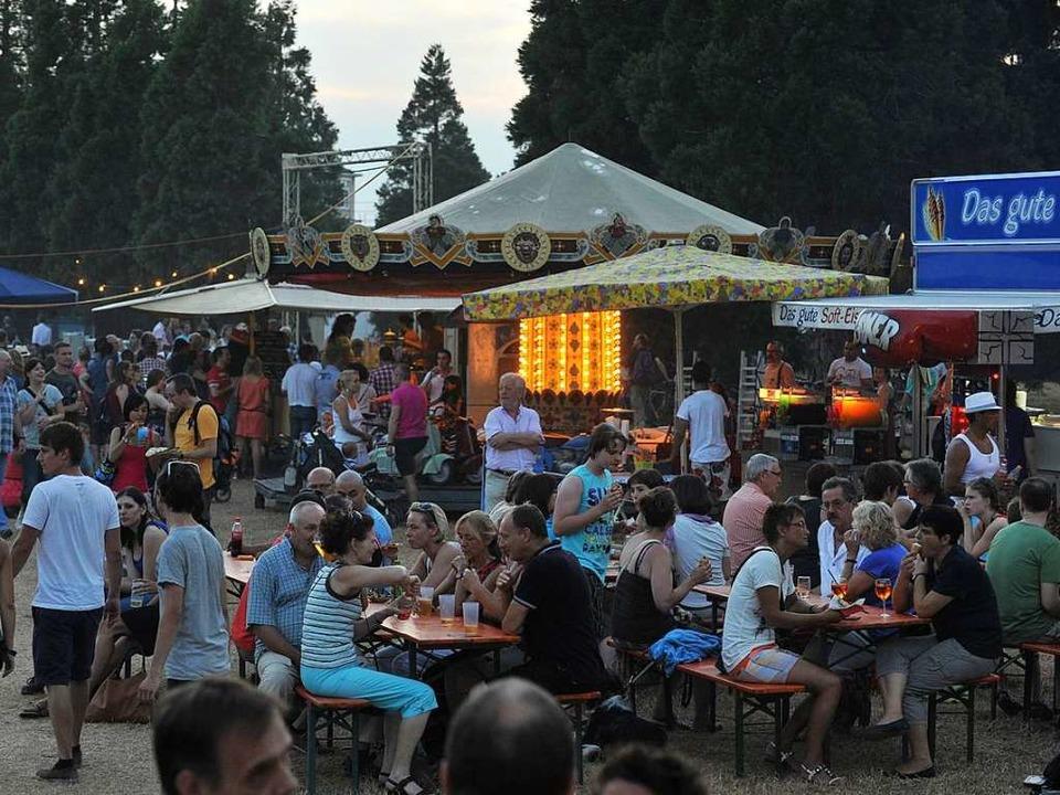 Eine Streetfood-Area soll das Fest in diesem Jahr ergänzen (Archivbild von 2013)  | Foto: Rita Eggstein