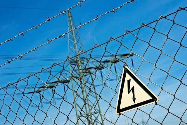 Bagger in Wyhlen hat Stromkabel gekappt