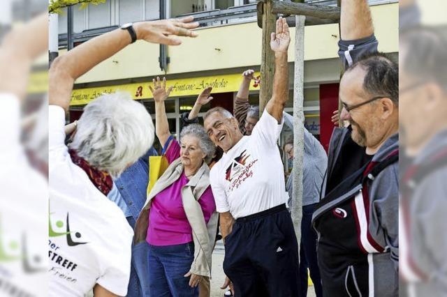 Bewegungstreffs für ältere Menschen an 22 Orten in der Region