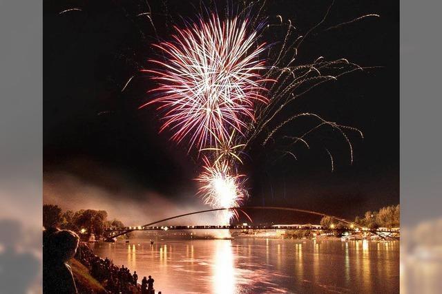 Dreiländerbrücke wird für Feuerwerk gesperrt