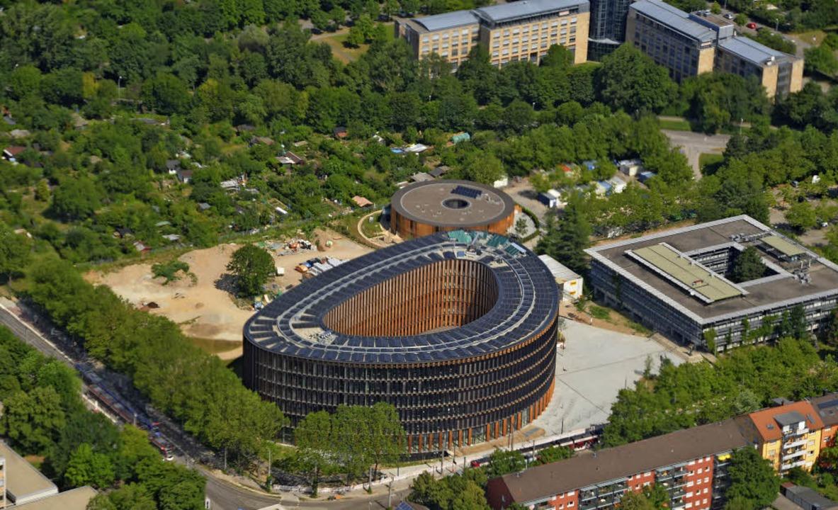 Das 80-Millionen-Euro-Projekt im Stühl...ch die Mehrkosten jedoch zurückholen.   | Foto: Sina Gesell