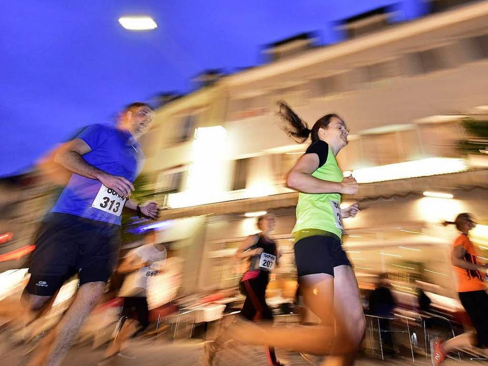 Freiburger Laufnacht, Emmendinger Stad...ich die WettbewerbeWo laufen sie denn?  | Foto: Thomas Kunz