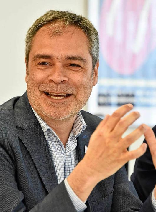 Michael Fischer, geschäftsführender Di...läre Kultur und Musik der Uni Freiburg  | Foto: Michael Bamberger