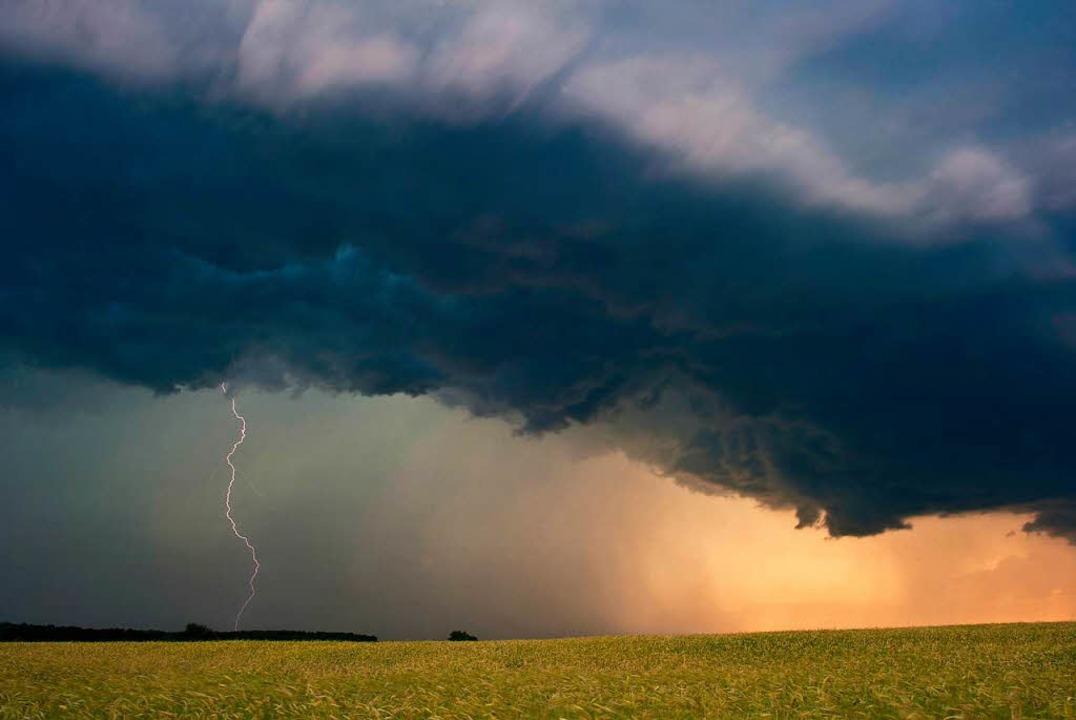 Unwetter in Lörrach (Symbolbild)  | Foto: Patrick Pleul