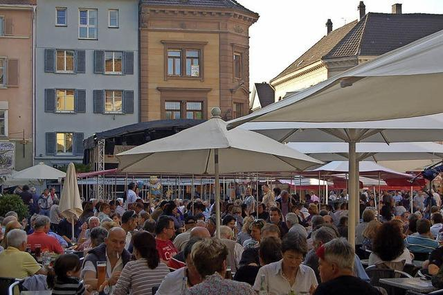Dreitägiges Fest in der Innenstadt von Bad Säckingen mit Unterhaltung