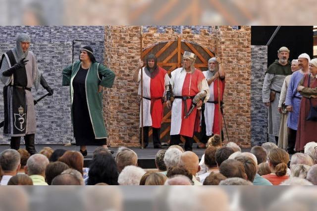 Feiern und Leben wie im Mittelalter