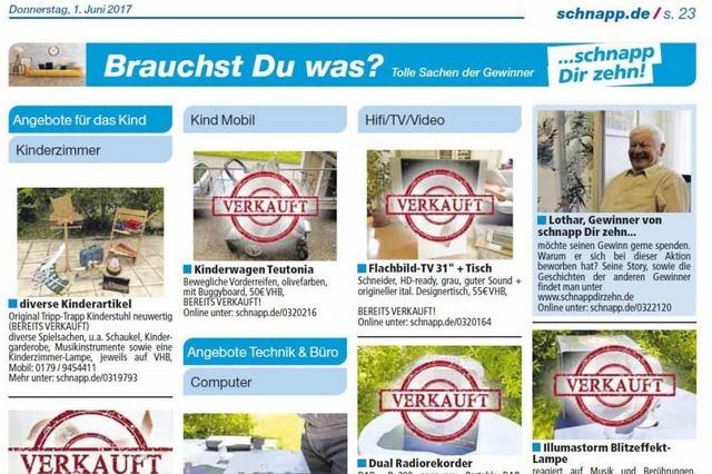 30 Jahre schnapp.de: Eine Aktion, die sich gelohnt hat