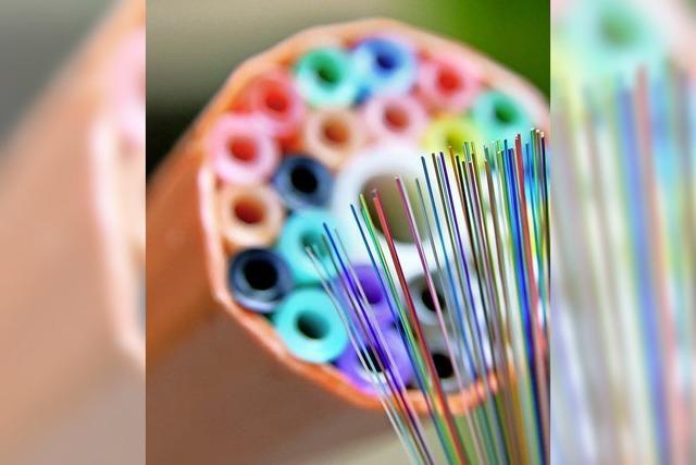 Schildgasse hat Priorität bei Glasfaser