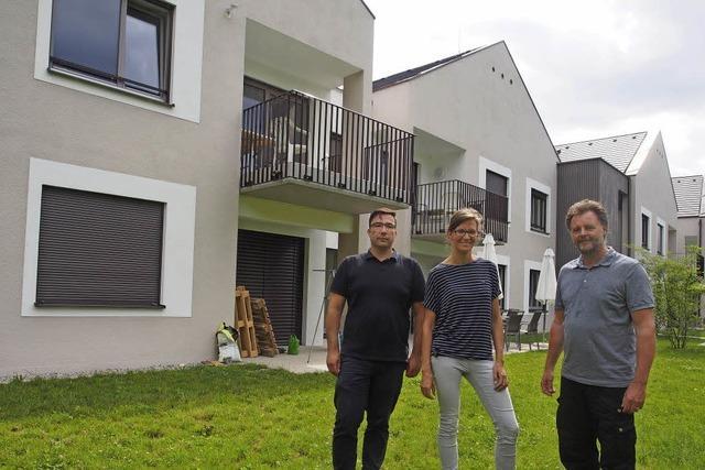 Ein Haus, das aussieht wie vier
