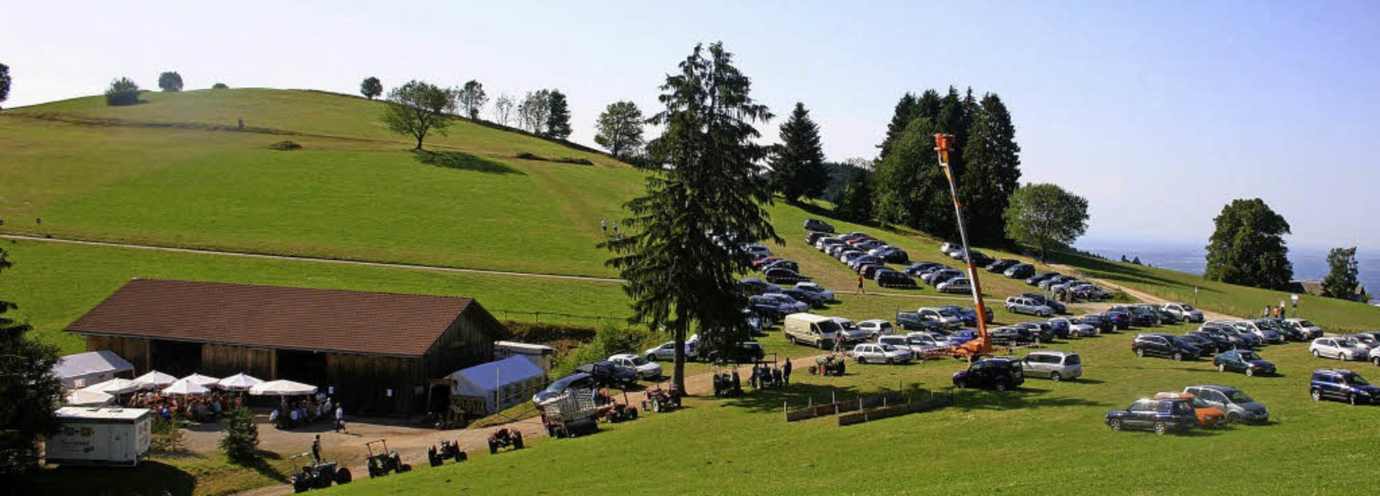 Auf dem höchsten Punkt St. Ulrichs findet  das Bergfest statt.   | Foto: PR, WEST. Fotostudio
