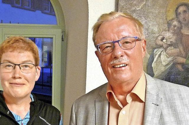 Zwei starke Stützen der Pfarrei