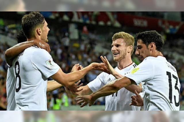 Fußball-Nationalelf steht im Confed-Cup-Finale