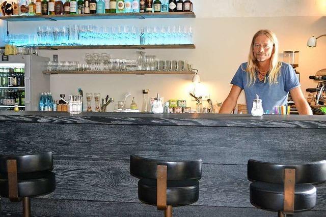 Im ehemaligen Café Grün eröffnet heute die