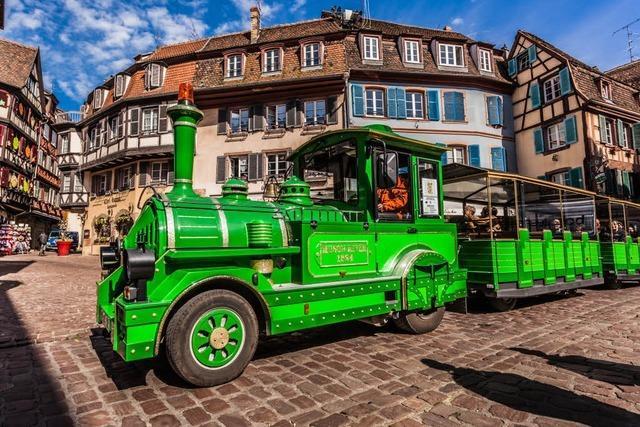 Petit Train: In Colmar hat Grün hat Vorfahrt