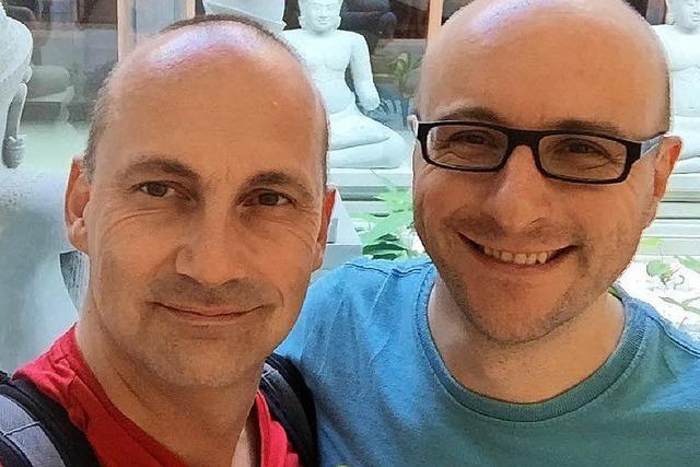 Zwei Freiburger Bräutigame freuen sich über die Ehe für alle