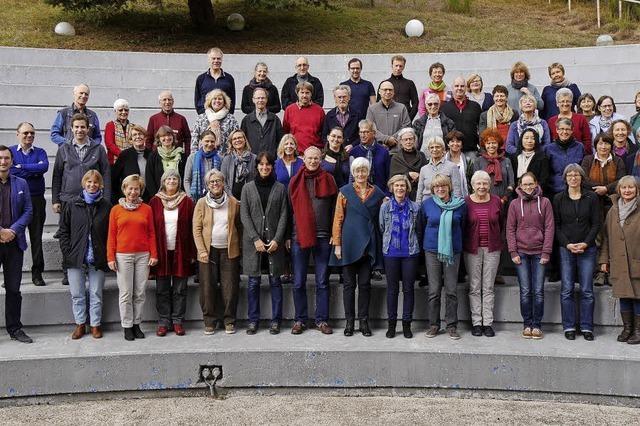 Freiburger Kantorei mit