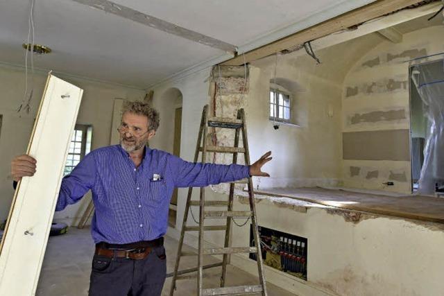 Kapelle im Schloss Ebnet wird wieder zum Kirchenraum