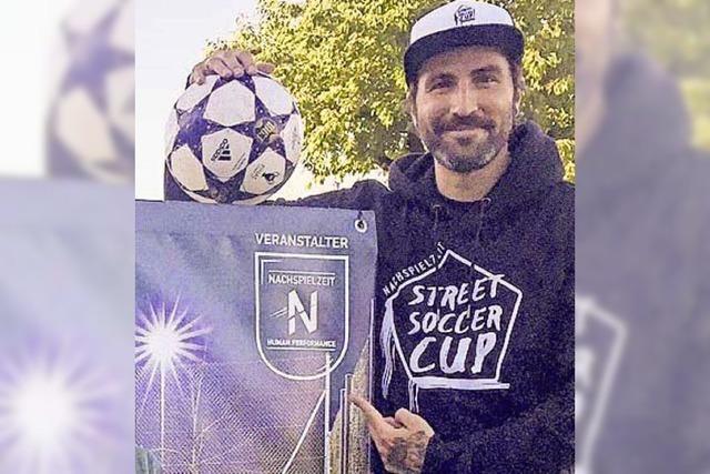Street Soccer mit acht Teams