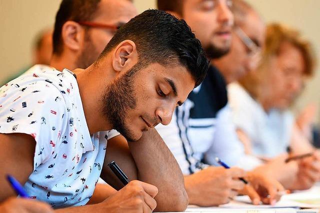 Wie sinnvoll sind die Sprachkurse für Flüchtlinge im Landkreis Lörrach?