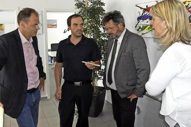 Landtagsabgeordneter informiert sich vor Ort