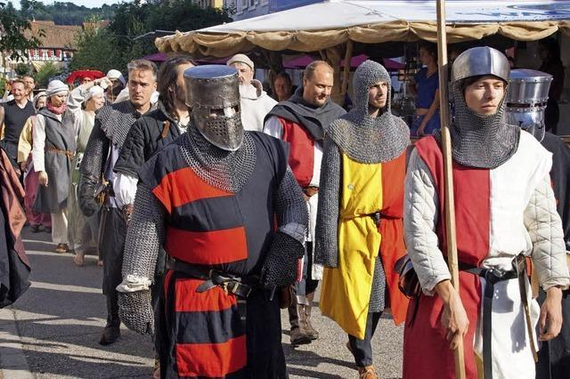 Feiern im Geist des Mittelalters