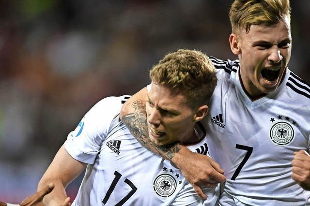 Deutsches U-21-Team holt den EM-Titel